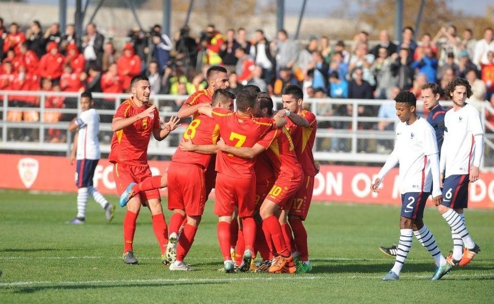 Macedonia u21; photo: FFM